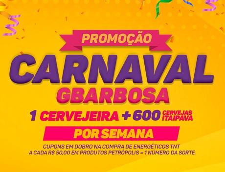 Promoção Carnaval Gbarbosa