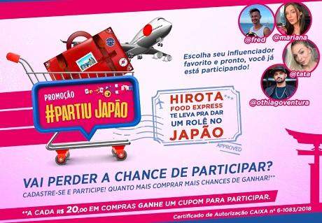 Promoção Hirota Food Express Partiu Japão
