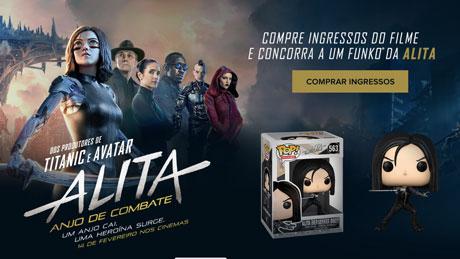 Promoção Ingresso.com Alita Anjo de Combate