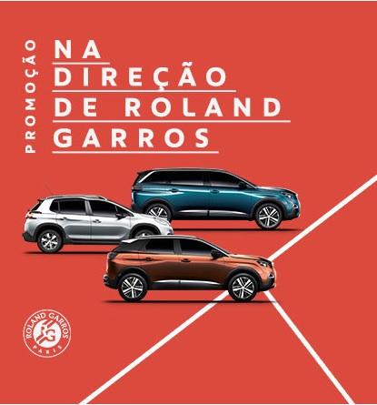 Promoção Peugeot Na Direção de Roland Garros