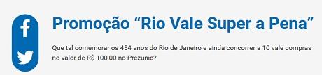 Promoção Prezunic Rio Vale Super a Pena