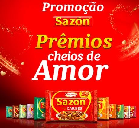Promoção Sazón Prêmios Cheios de Amor
