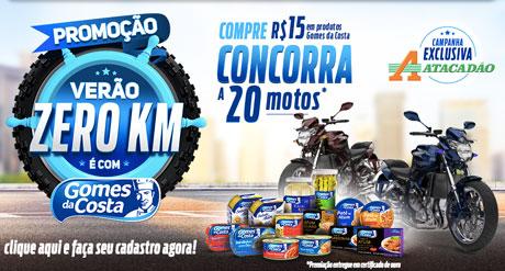 Promoção Verão 0km É Com Gomes da Costa