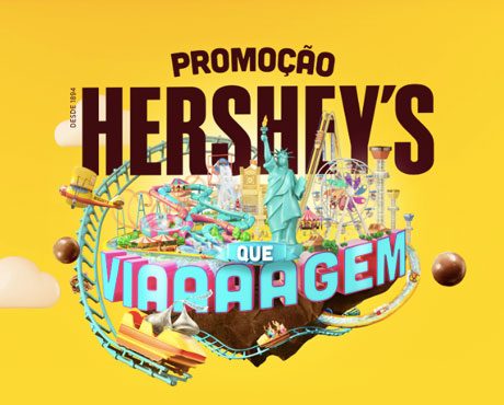 Promoção Hershey's Que Viagem