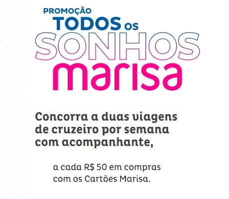 Promoção Todos Os Sonhos Marisa