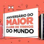 Promoção 01 Adega Cheia por Dia Aniversário Clube Wine