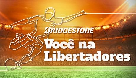 Promoção Bridgestone Você na Libertadores