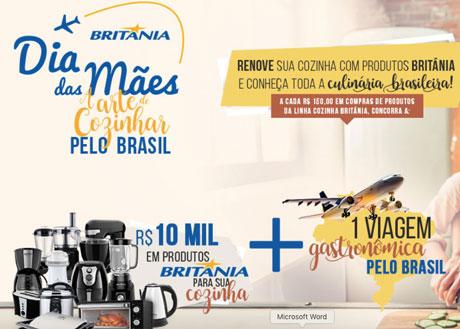 PromoçãoBritania A Arte de Cozinhar Pelo Brasil