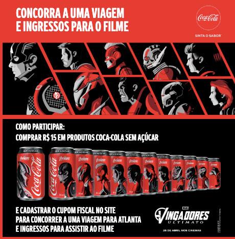 Promoção Coca-Cola Sem Açúcar
