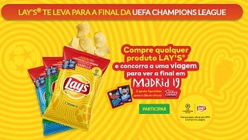 Promoção Lay's te leva para a final da UEFA Champions League