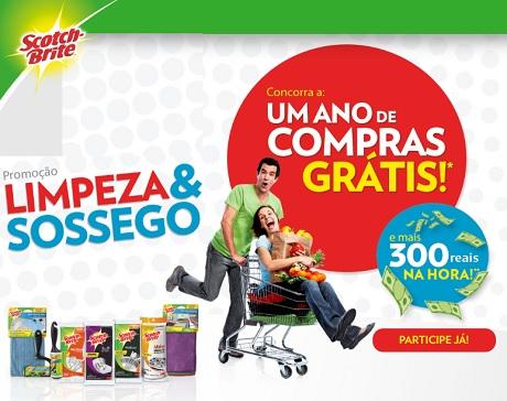 Promoção Scoth Brite Limpeza & Sossego