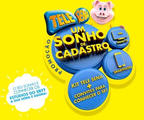 Promoção Tele Sena Um Sonho de Cadastro