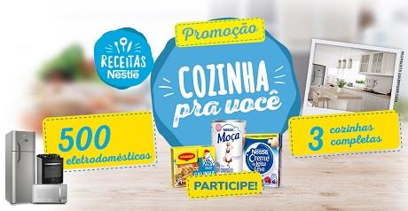 Promoção Nestlé Cozinha pra Você
