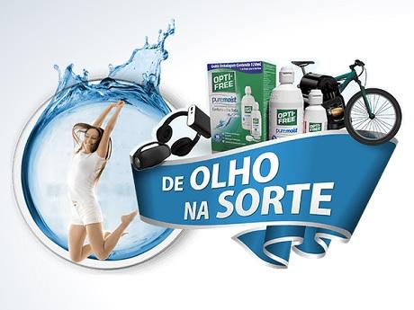 Promoção Opti-Free De Olho na Sorte