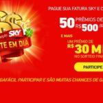 Promoção Sky Sorte em Dia