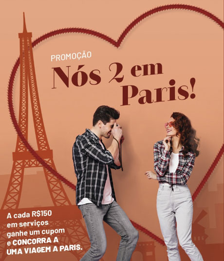 Promoção Arranjos Express Nós 2 em Paris
