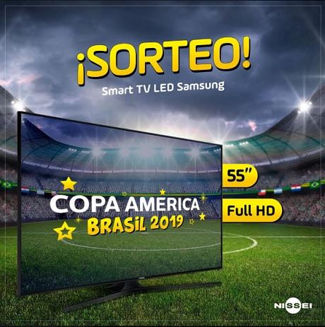 Promoção Casa Nissei Sorteio Copa América Brasil 2019