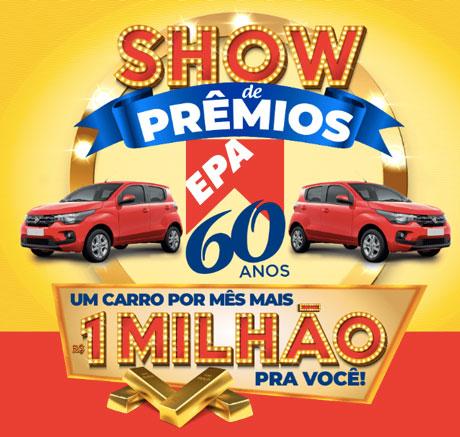 Promoção Show de Prêmios EPA 60 Anos