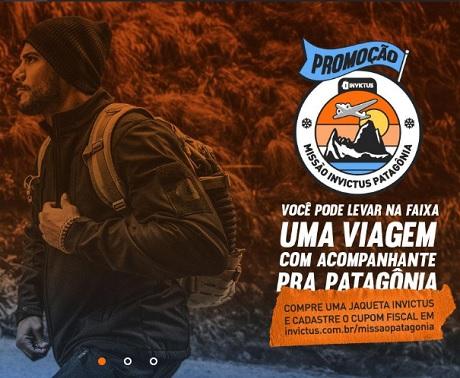 Promoção Missão Invictus Patagônia