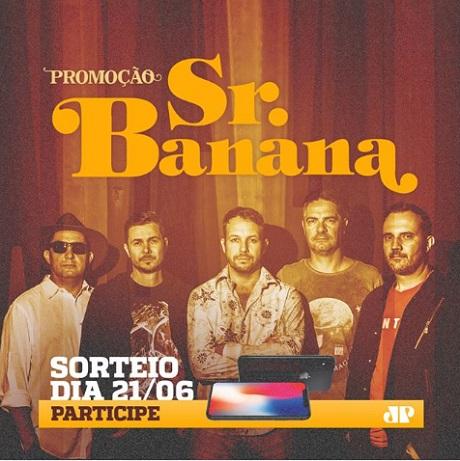 Promoção Rádio Jovem Pan Sr Banana com iPhone X