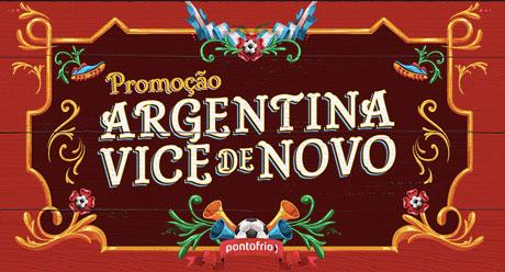 Promoção PontofrioArgentina Vice de Novo