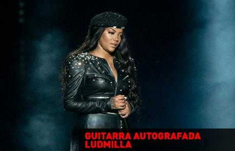 Concurso Cultural Guitarra Autografada Ludmilla