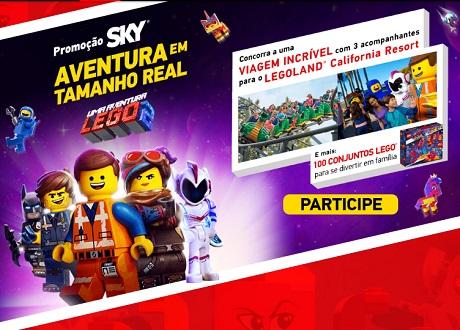 Promoção Sky Legoland Aventuras em Tempo Real