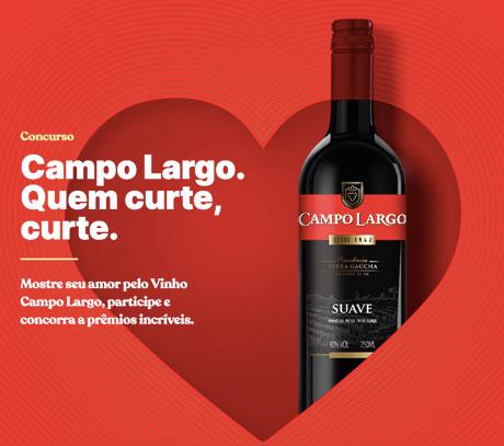 Concurso Vinho Campo Largo Quem Curte, Curte