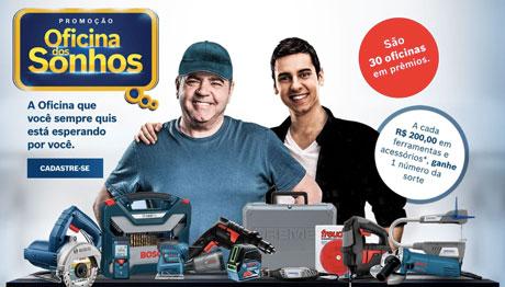 Promoção Bosch Oficina Dos Sonhos