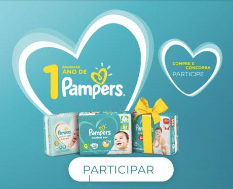 Promoção Um Ano de Pampers no Carrefour