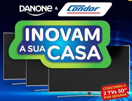 Promoção Condor e Danone Inovam A Sua Casa
