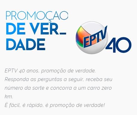 Promoção 40 Anos EPTV