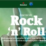 Promoção Heineken Esse Tal de Rock'n'roll