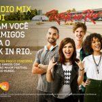 Promoção A Rádio Mix e a Oi Levam Você e 3 Amigos Para O Rock In Rio