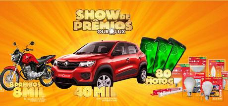 Promoção Atacadão e Ourolux Show de Prêmios