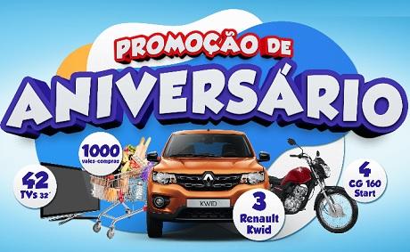 Promoção Aniversário 19 anos Paulistão Supermercados