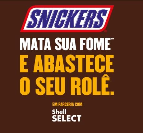 Promoção Snickers Mata A Sua Fome e Abastece O Seu Rolê