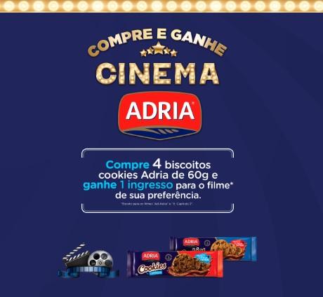 Promoção Adria no Cinema