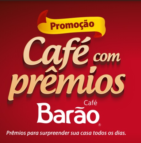 Promoção Café com Prêmios Café Barão