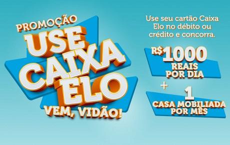 Promoção Use Caixa Elo Vem Vidão