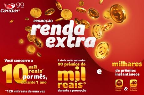 Promoção Condor Renda Extra