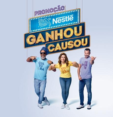 Promoção Nestlé Ganhou Causou