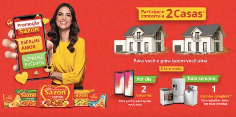 Promoção Sazón Espalhe Amor Espalhe Prêmios
