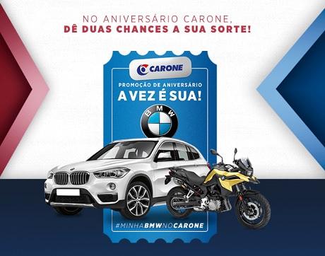 Promoção Minha BMW no Carone