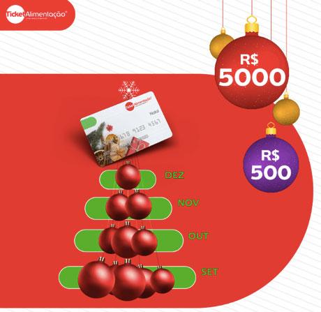 Promoção Ticket Alimentação Natal