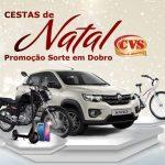 Promoção Sorte em Dobro Natal CVS Cestas