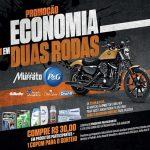 Promoção Economia em Duas Rodas Super Muffato e P&G