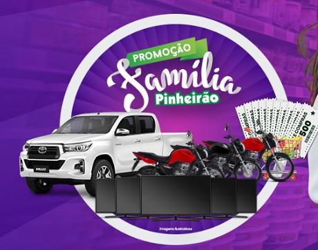Promoção Família Pinheirão 25 Anos com Você