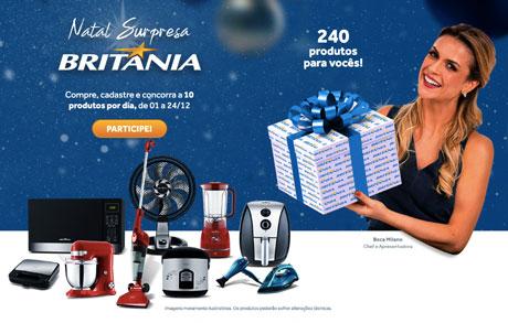 Promoção Natal Surpresa Britânia