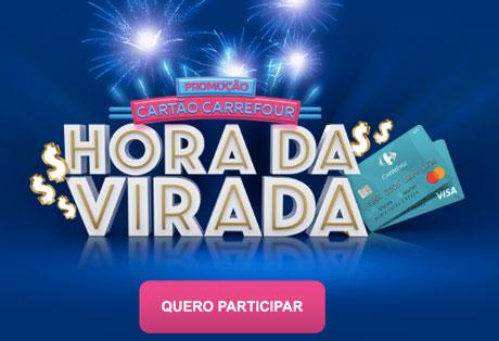 Promoção Cartão Carrefour Hora da Virada